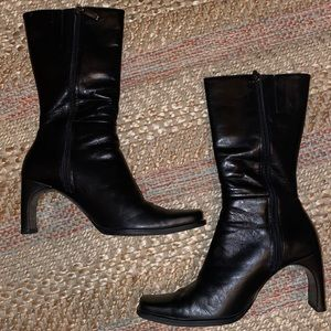 Enzo Angiolini Square Front Boots